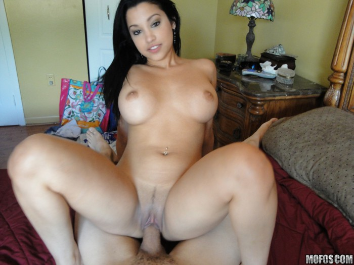 Abella anderson in bed